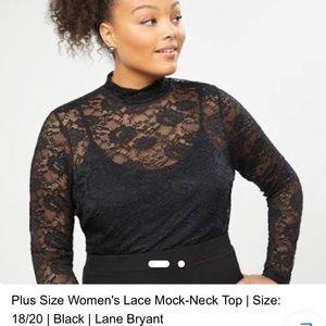 Plus size lace top size 18/20